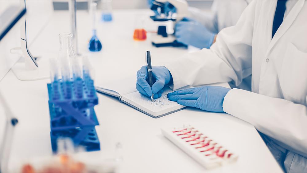Foto von einer Laborsituation