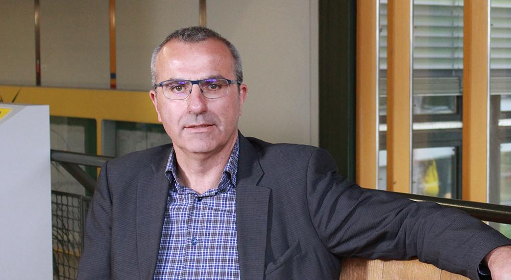 Porträt von Professor Dald Schneider
